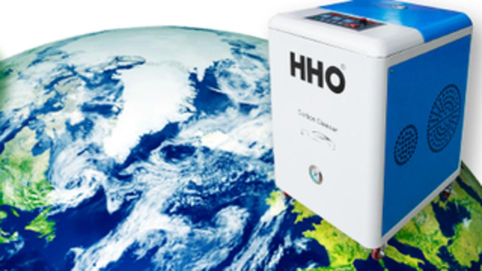 Desmostracion del funcionamiento de la descarbonizadora HHO Carbon Cleaner